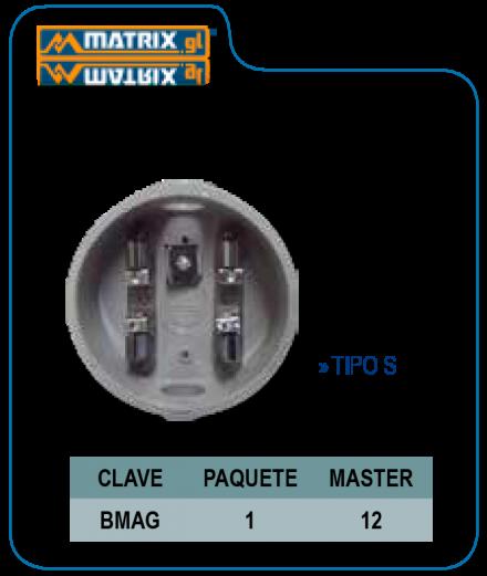 Base para medidor Tipo S