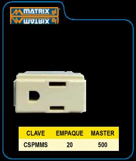 Contacto Polarizado c/tierra MODX M