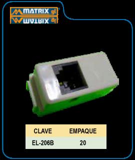 Toma Telefónica Evo Blanco