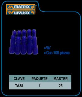 Taquete azul