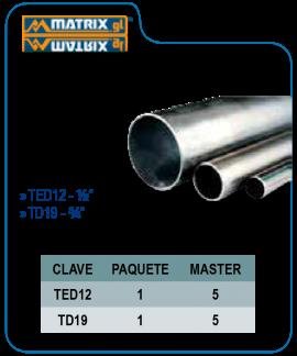 Tubo conduit pared delgada