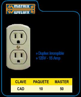 Contacto Duplex