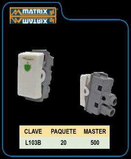 Botón Timbre Blanco